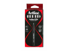 Artline 220 Series Superfine Point Black 0.2mm Pens