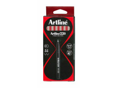 Artline 220 Series Superfine Point Red 0.2mm Pens