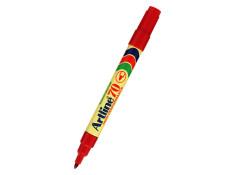 Artline 70 Series 1.5mm Bullet Nib Red Permanent Marker