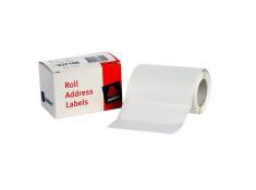Avery 102 x 36mm White Self-Adhesive