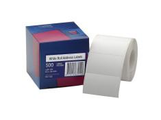 Avery 63 x 36mm White Self-Adhesive
