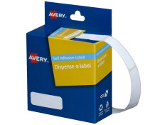 Avery DMR1336W White 13 x 36mm