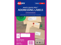 Avery L7157 Laser Labels 64 x 24.3 mm 100Pk