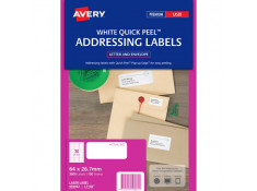 Avery L7158 Laser Labels 64 x 26.7 mm 100Pk