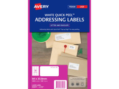 Avery L7159 Laser Labels 64 x 33.8 mm 100Pk