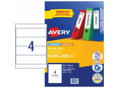 Avery L7171 4UP Lever Arch Laser