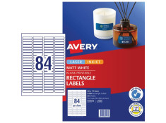 Avery L7656 Mini Labels 46 x 11.11mm 25Pk