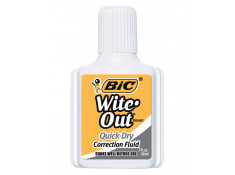 Bic Wite-Out Quick Dry 20ml