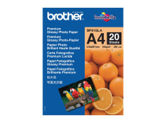 Brother BP61GLA 190gsm A4 Glossy Photo Paper - BP-61GLA