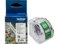 Brother CZ-1002 12mm x 5m White