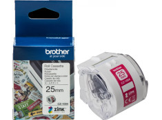 Brother CZ-1004 25mm x 5m White