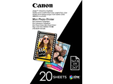 Canon MPPP20 20 Sheets 5 x 7.6cm