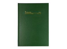 Collins 2020/21 A4 Day-To-Page (DTP) 1/2 Hour Green