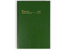 Collins 2020/21 A5 Day-To-Page (DTP) 1-Hour Green