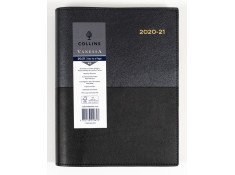 Collins 2020/21 A5 Vanessa Day-To-Page (DTP) 1-Hour Black