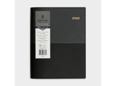 Collins 2021 A5 Vanessa Day-To-Page (DTP) Black
