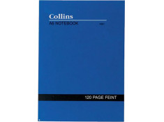 Collins 901 A6 Faint Lined 120 Page