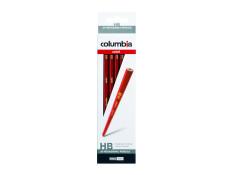 Columbia Cadet HB Hexagonal Graphite Grey Lead Pencils