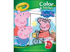 Crayola Peppa Pig Colour and Sticker