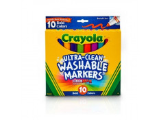Crayola Ultra-Clean Washable Broad Line Bold Colours