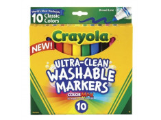 Crayola Ultra-Clean Washable Broad Line Classic Colours