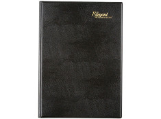 Cumberland 2021 Elegant A4 2 Days-To-Page 1-Hour Black