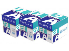 DOUBLE A 80 GSM A4 Smoother Copy Paper