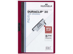 Duraclip A4 Document Flat File 30 Sheet