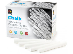 EC 100 Pack of Non Toxic Dustless White