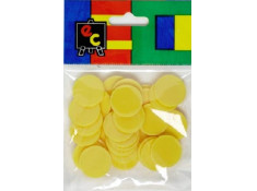 EC 30 Pack of Small 20mm Yellow