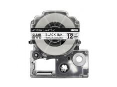 Epson Generic LK-4TBN 12mm x 8m Black on Clear