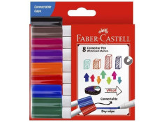 Faber-Castell Assorted Colour Connector Whiteboard Markers