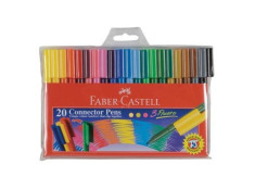 Faber-Castell Assorted Colours Connector Pens
