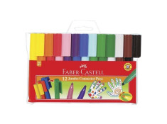 Faber-Castell Jumbo Assorted Colours Connector Pens