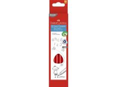 Faber-Castell Junior Grip Triangular HB Pencils