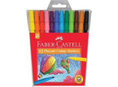 Faber-Castell Playsafe Assorted Colour Markers