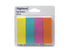 Highland 6719-4A 50 Sheets 4 Pack