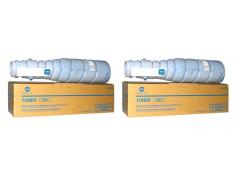 Konica Minolta TN414 Black Toner Cartridges Twin Pack