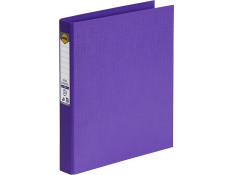 Marbig A4 Pe 2 D-Ring 25mm Purple
