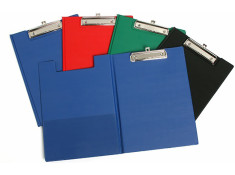 Marbig PVC Assorted A4 Clipfolder