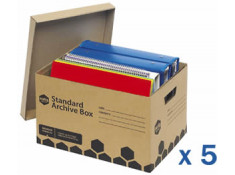 Marbig Enviro Archive Box 5 Pack