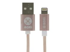 Moki Braided Lightning Rose-Gold