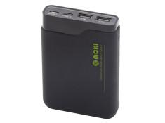 Moki Type C + USB Power Bank 10000 +