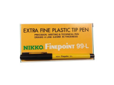 Nikko 99-L 0.4mm Fineline Assorted Pen