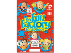 Olympic 20 Pk of 48 Page Fun Factory 335mm x 240mm