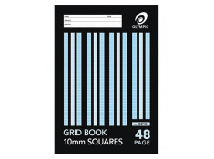Olympic 225 x 175mm 10mm Grid 48 Page