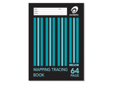 Olympic A4 Mapping & Tracing 64 Page