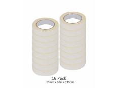 SCI 16 Pack White/Beige 19mm x 50m x 145 Mic