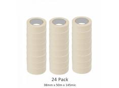 SCI 24 Pack White/Beige 38 mm x 50m x 145 Mic