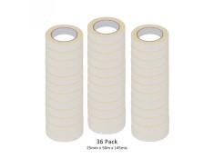 SCI 36 Pack White/Beige 25mm x 50m x 145 Mic